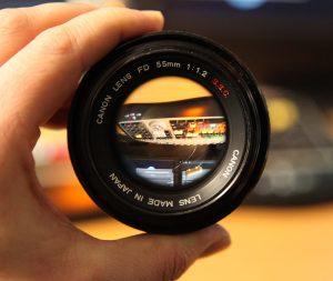 Canon S.S.C 55mm FD f/1.2